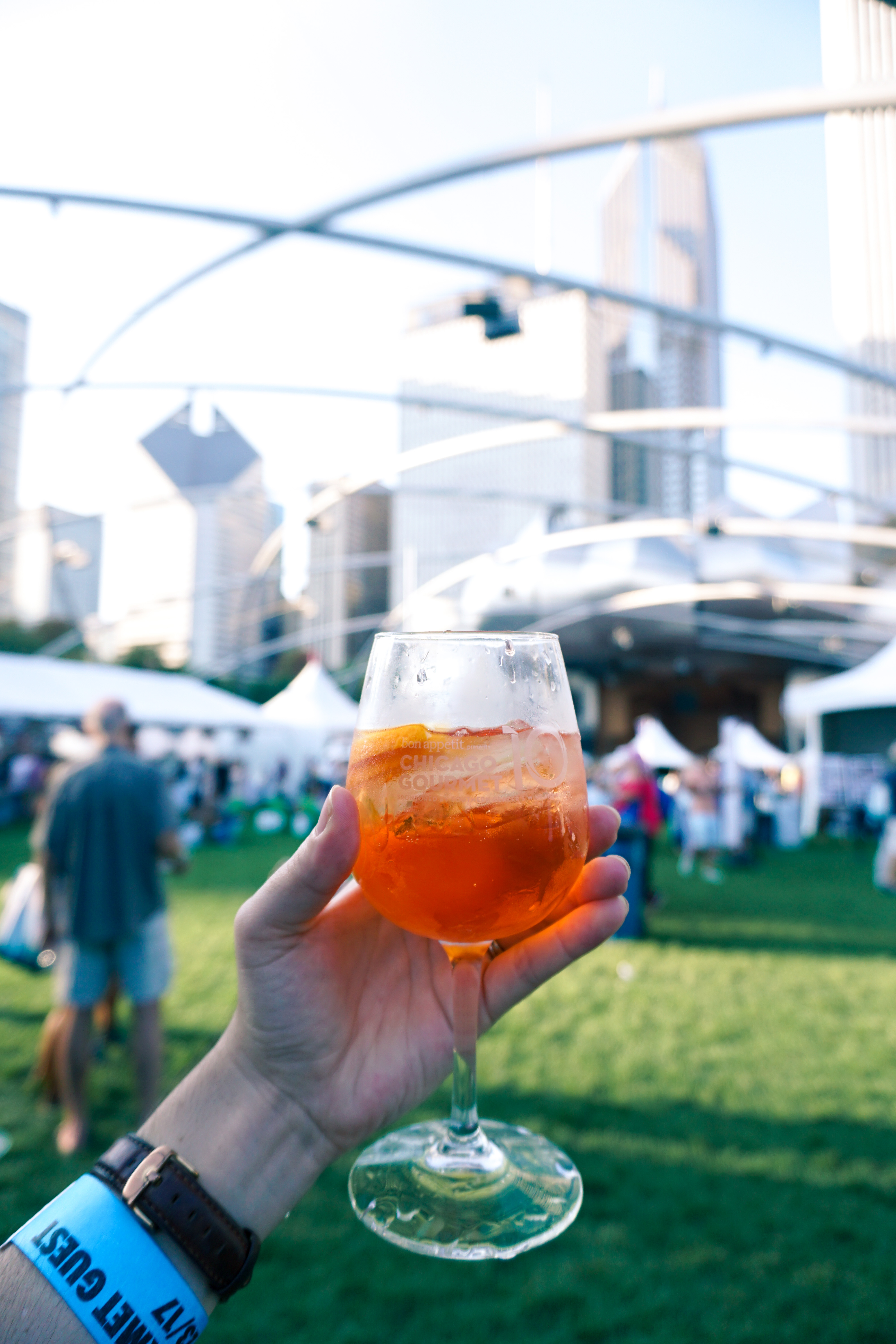 Aperol Spritz Chicago Gourmet 2017 via 312food