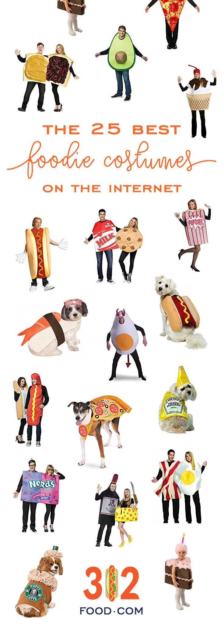 Halloween ideas: the 25 best foodie costumes on the internet.
